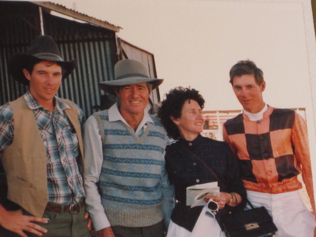 Anderson Family-Camooweal Races 1984