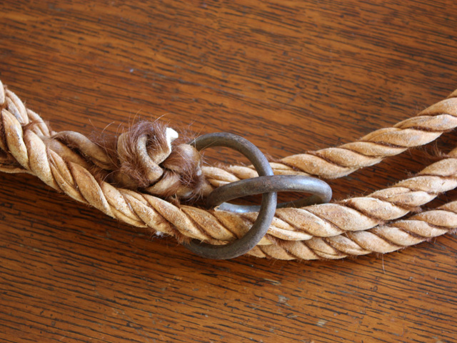Greenhide Leg Rope