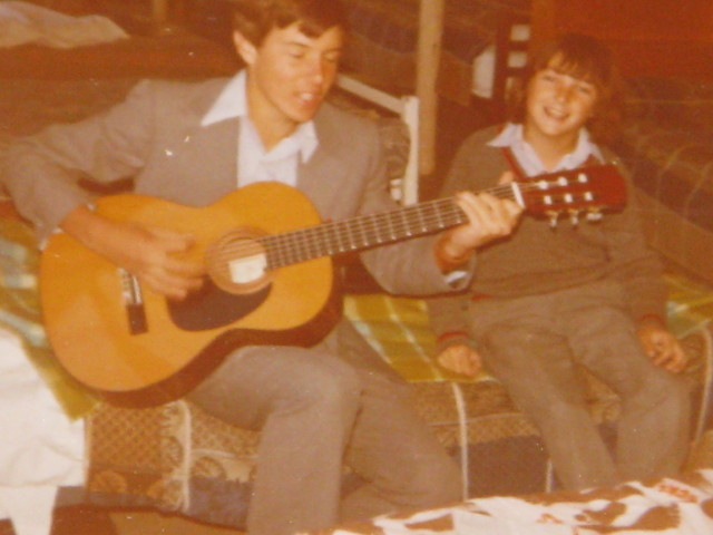 Neville aka Slim, and Naish Reid Rostrevor College 1978