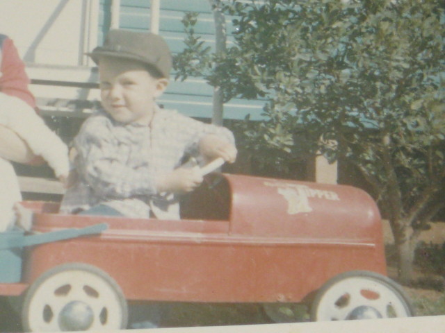Neville in his first ute late 60's
