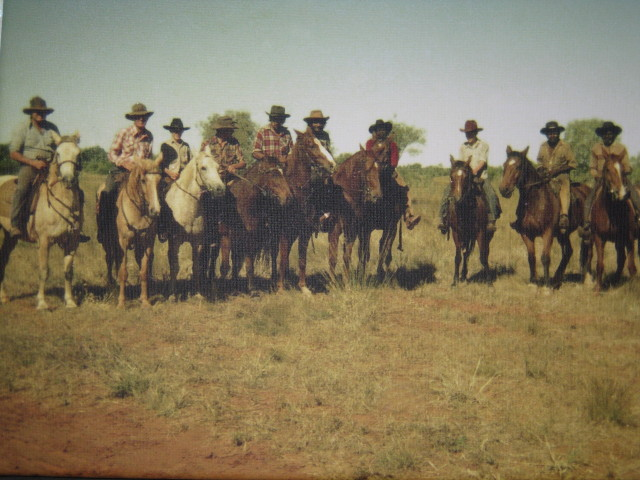 Stockmen - Ooratippra Station  NT late 70's